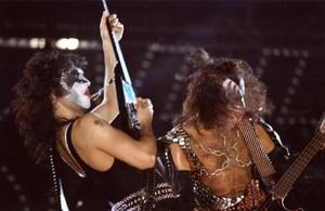 Paul and Gene ~Montréal, Québec, Canada...July 12, 1977