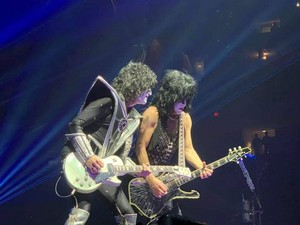 Paul and Tommy ~Raleigh, North Carolina...April 6, 2019 (PNC Arena)