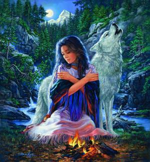 Peaceful Spirit por Russ Docken