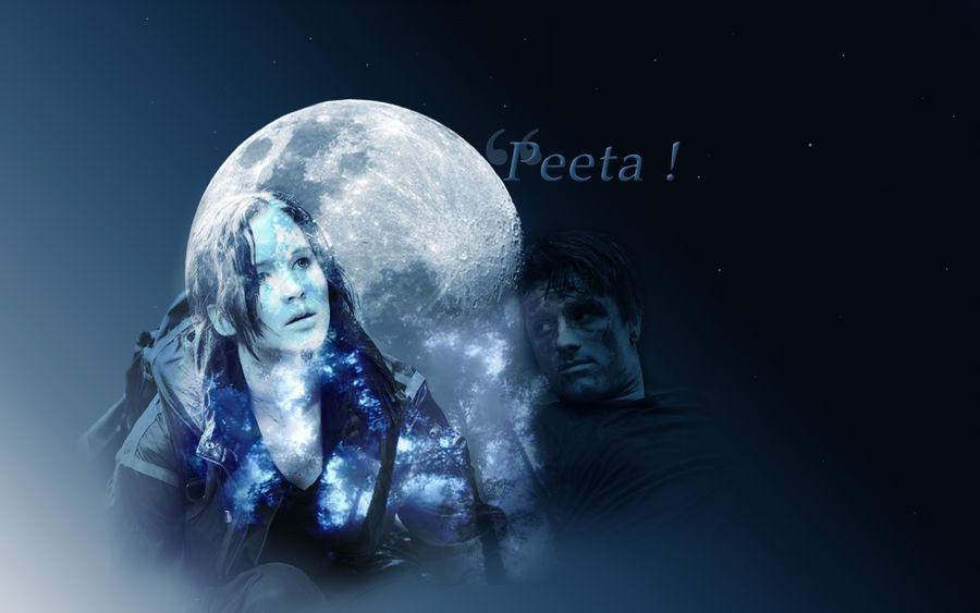 Peeta/Katniss Wallpaper - Both Can Survive