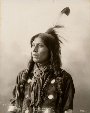 Pete Mitchell (Dust Maker) Ponca 1898 sejak Frank Albert Rinehart
