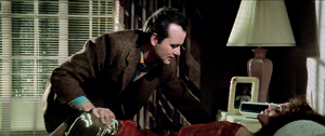 Peter restrains Dana