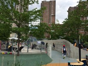 Playground In Rockefeller Park