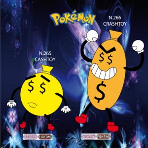 Pokemon (8 Generation) Cashtoy & Crashtoy