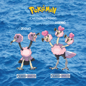 Pokemon (8 Generation) Doduo & Dodrio