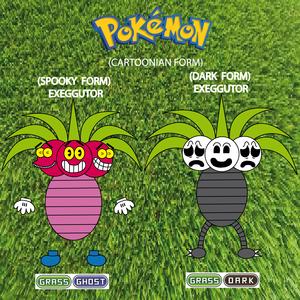 Pokemon (8 Generation) Exeggutor