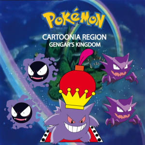 Pokemon (8 Generation) Gengar's Kingdom