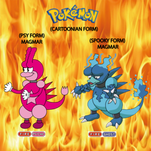 Pokemon (8 Generation) Magmar