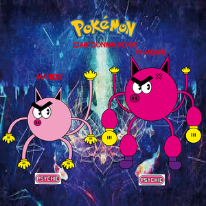 Pokemon (8 Generation) Mankey & Primeape