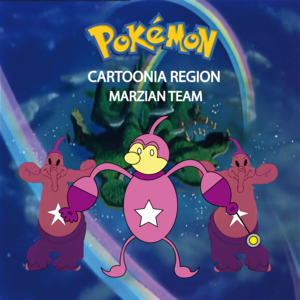 Pokemon (8 Generation) Marzian Team