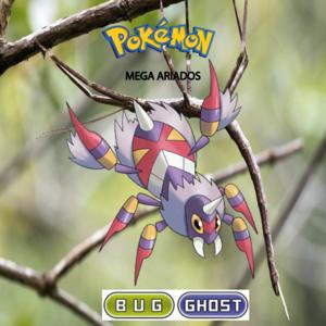 Pokemon (8 Generation) Mega Ariados