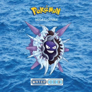 Pokemon (8 Generation) Mega Cloyster