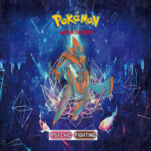 Pokemon (8 Generation) Mega Deoxys