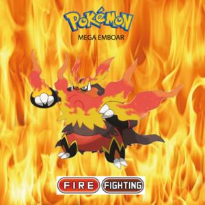 Pokemon (8 Generation) Mega Emboar