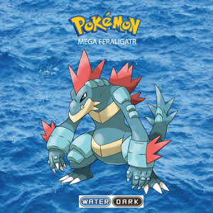 Pokemon (8 Generation) Mega Feraligatr