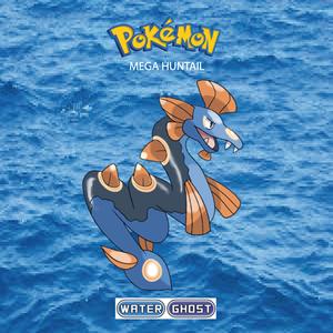 Pokemon (8 Generation) Mega Huntail