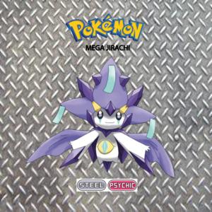 Pokemon (8 Generation) Mega Jirachi