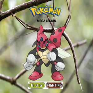 Pokemon (8 Generation) Mega Ledian