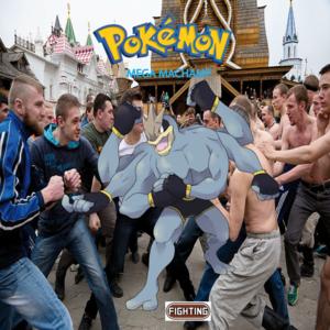 Pokemon (8 Generation) Mega Machampite