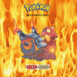 Pokemon (8 Generation) Mega Magcargo