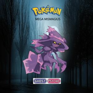 Pokemon (8 Generation) Mega Mismagius