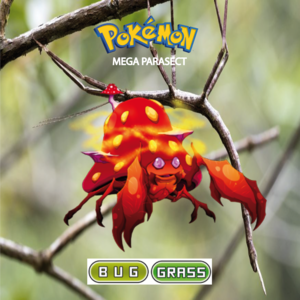 Pokemon (8 Generation) Mega Parasect
