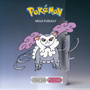 Pokemon (8 Generation) Mega Purugly