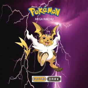 Pokemon (8 Generation) Mega Raichu