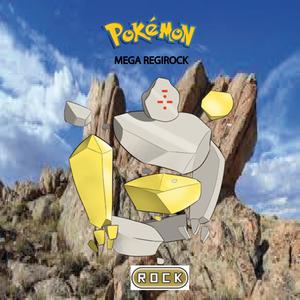 Pokemon (8 Generation) Mega Regirock