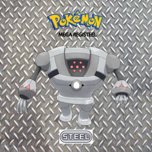 Pokemon (8 Generation) Mega Registeel