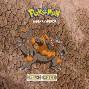 Pokemon (8 Generation) Mega Rhyperior