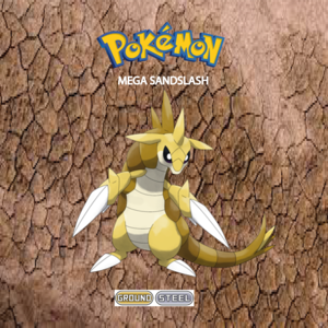 Pokemon (8 Generation) Mega Sandslash