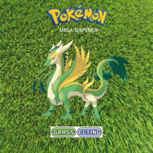 Pokemon (8 Generation) Mega Serperior