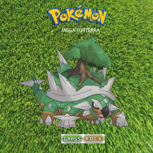 Pokemon (8 Generation) Mega Torterra