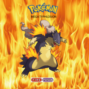 Pokemon (8 Generation) Mega Typhlosion