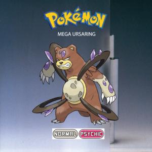 Pokemon (8 Generation) Mega Ursaring