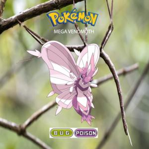 Pokemon (8 Generation) Mega Venomoth