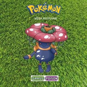 Pokemon (8 Generation) Mega Vileplume