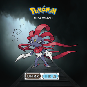 Pokemon (8 Generation) Mega Weavile
