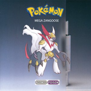 Pokemon (8 Generation) Mega Zangoose