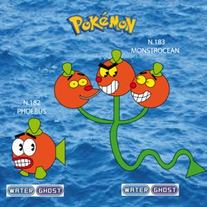 Pokemon (8 Generation) Phoebus & Monstrocean