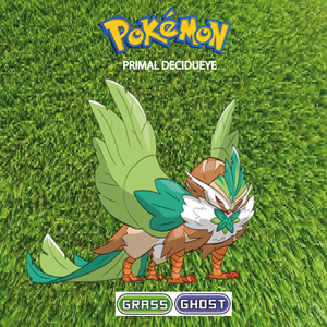 Pokemon (8 Generation) Primal Decidueye