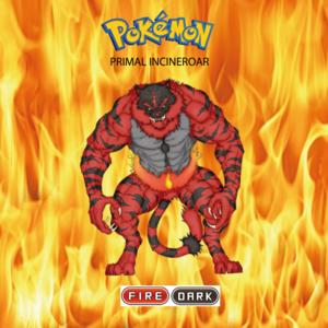 Pokemon (8 Generation) Primal Incineroar