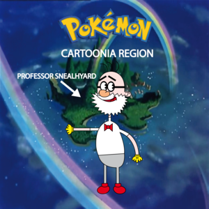 Pokemon (8 Generation) Professor Snealhyard