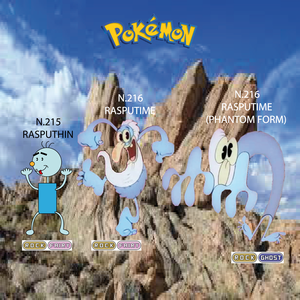 Pokemon (8 Generation) Rasputhin & Rasputime