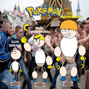 Pokemon (8 Generation) Sbreakie, Sbrikesbraks & Spreekespraks