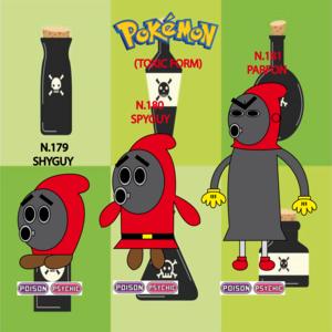 Pokemon (8 Generation) Shyguy, Spyguy & Parfon