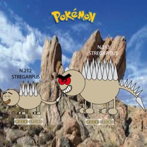 Pokemon (8 Generation) Stregarpus & Stregapitus