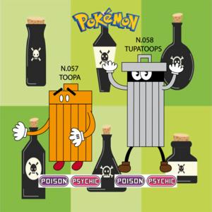 Pokemon (8 Generation) Toopa & Tupatoops
