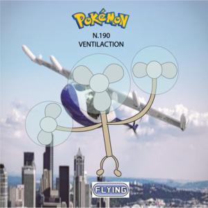 Pokemon (8 Generation) Ventilaction